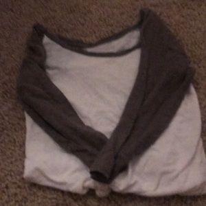 Express mid length sleeve shirt